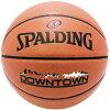 SPALDINGDOWNTOWNミニバスバスケットボール5号ダウンタウンブラウン小学校子供用合成皮革スポルディング76-508J
