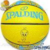 スポルディングバスケットボール6号トゥイーティールーニーテューンズイエローラバーSPALDING83-666J