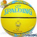 スポルディング バスケットボール6号 トゥイーティー ルーニーテューンズ イエロー ラバー SPALDING83-666J