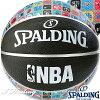 SPALDINGミニバスバスケットボール5号NBAアイコンボールブラック小学校子供用ラバースポルディング83-772J