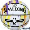 SPALDINGバスケットボール7号マーブルコレクションオータム大理石柄ラバースポルディング83-809J