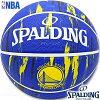 SPALDINGバスケットボール7号NBAゴールデンステイトウォリアーズマーブルラバースポルディング83-935J