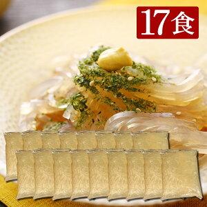 伊豆河童 ダイエットところてん 17食 選べるタレ付 無添加 糖質制限 国産 お腹膨らむ 柿田名水 突き済み 小袋入りところてん asu