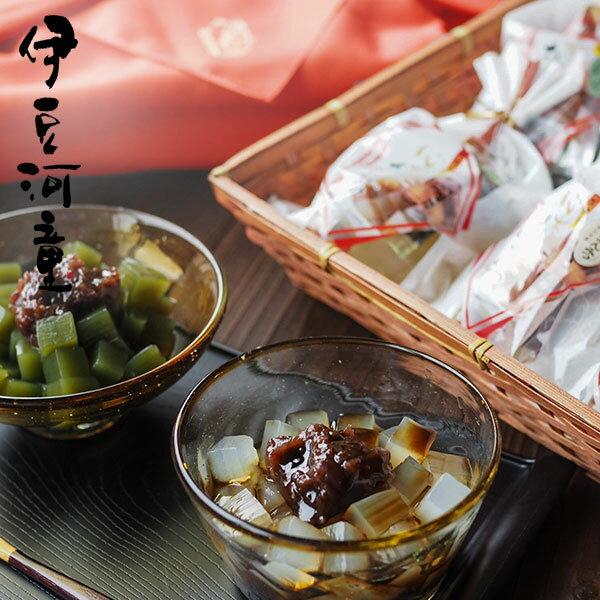 あんみつ竹籠風呂敷 8個 餡蜜セット 送料無料 和菓子 お取り寄せ あんみつ ギフト asu