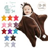 Tuppence & crumble Stirrups for 11-18 months and star-shaped Swaddle and Swaddle / star / Afghan and blanket / baby / fleece / fall/winter / trotting gait / feet /