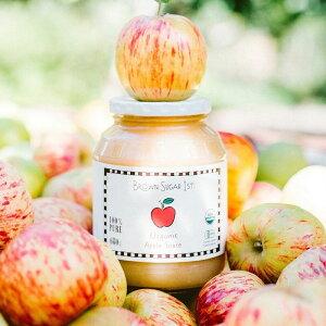\ママ割エントリーでP3倍/ BROWN SUGAR 1ST. ブラウンシュガー1ST 有機アップルソース 瓶タイプ  アップルソース 砂糖不使用 オーガニック りんご 林檎 ジャム ママレード ギフト プレゼント ブ