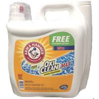 アームアンドハンマー【プラスオキシクリーンマックスフリー】(7.39L)(ARM&HAMMER OXICLEANMAX FREE)液状洗濯洗剤 オキシクリーン