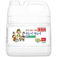 【お1人様5点迄】キレイキレイ 薬用ハンドソープ 4L詰替用 LION ライオン