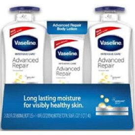 Vaseline ヴァセリン リペアリングローション 3本セット(600ml×2本&295ml×1本)