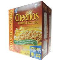 ハニーナッツチェリオ 1.51kg(755g×2箱)Hony Nut Cheerios