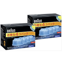 ブラウン アルコール洗浄液 メンズシェーバー用 8個(4個入り×2セット) CCR4×2セット 国内正規品