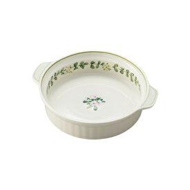 ノリタケ食器 【ENGLISH HERBS】イングリッシュハーブズ  19cm丸型グラタン皿