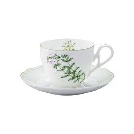 ノリタケ食器 【ENGLISH HERBS】イングリッシュハーブズ  ティー・コーヒー碗皿