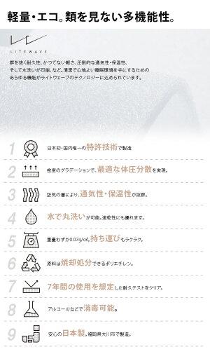 リテリーエクストラクリーンマットレス95SDセミダブルアレルバスターマットレスリバーシブル高反発ライトウェーブ日本製薄型セミダブルサイズモーブル洗える清潔エコ軽量寝心地アップ一人暮らし新生活引越し