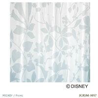 DisneyMICKEYPicnicVoile&Lace100×176cm1.5倍ヒダ1枚ハーフミラーカーテンレースカーテンMICKEY日本製(代引不可)(送料無料)Disneyミッキーマウスピクニックウォッシャブルdisneyディズニー既成カーテン