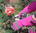 ソフトガーデングローブ 手袋 ガーデニング 庭 園芸 家庭菜園 軽量 トゲ 長袖 丈夫 ガーデニンググローブ 棘 造園 ナ…