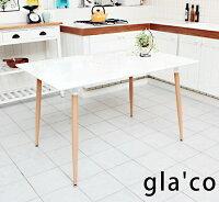 ダイニングテーブル食卓幅120cmテーブルダイニングテーブル食事テーブル北欧風ガラコ120ダイニング作業テーブル作業机食卓テーブル長方形アジャスター付お手入れが楽なテーブルホワイト高さ70cmシンプル北欧風引越し新生活新居一人暮らし