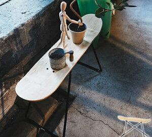 スケートボードスツールナチュラル