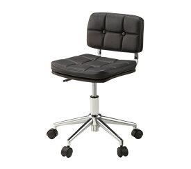イス チェア デスクチェア ブラック パーソナルチェア 昇降機能 キャスター付き レトロ パソコンチェア オフィスチェア 椅子 昇降式 アンティーク
