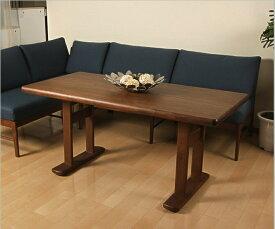 木製ダイニングテーブル ダイニングテーブル フィグ 幅145×奥行70×高さ65cm 高さ65cm ソファダイニングにおすすめ 食卓 食事テーブル ブル 北欧調 インテリアテーブル シンプル テーブル[byおすすめ]