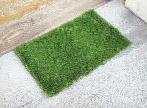 玄関マット グラスマット レクト GRASS MAT RECT SGDS2010 幅67×奥行40cm 玄関 ドアマット ステップ 屋外 エントランスマット 土間 芝生 外用 バルコニー 緑 ガーデン 庭 長方形 スパイス SPICE