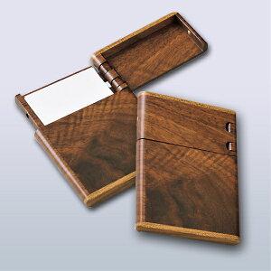 \5/8 0:00〜ポイント10倍★5/10まで/ 旭川クラフト 木製ビジネスカードケース 幅約10.3×奥行き約7.8×厚み約1.1cm 名刺はもちろん、ICカードや運転免許証も入るカードケース。名刺は10枚程度入