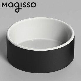 北欧デザイン雑貨 magisso ウォーターボウル ラージ ペット用ボウル 水入れ 冷却機能 陶磁器 セラミックス シンプル 北欧デザイン
