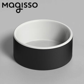 北欧デザイン雑貨 magisso ウォーターボウル ミディアム ペット用ボウル 水入れ 冷却機能 陶磁器 セラミックス シンプル 北欧デザイン
