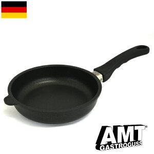 AMT フライパン 20cm ガス火用 PFOAフリー ドイツ製 5層構造 ノンスティック加工 くっつかない 高耐久性フッ素加工 ワールドベストパン インポート 料理オリンピック 鋳物 鋳造 ハンドキャスト