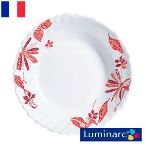 Luminarc ロマンシア レッド マルチボウル 18 アルク ルミナルク フランス 食器 お皿 ボウル 容器 インポート 輸入 おしゃれ かわいい 新生活 ガラス 磁器 陶器
