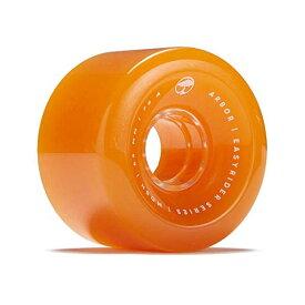 Arbor アーバー スケートボード スケボー ウィール 65mm ゴースト オレンジ 海外モデル アメリカ直輸入 海外正規品 Arbor Easyrider Mosh Skate Wheels Ghost Orange 65mm