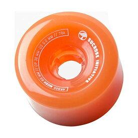 Arbor アーバー スケートボード スケボー ウィール 65mm ゴースト オレンジ 海外モデル アメリカ直輸入 海外正規品 Arbor Mosh Fusion 65mm 78A Ghost Orange (Set of 4)
