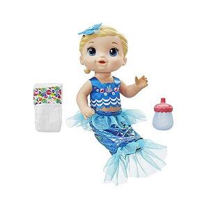 ベビーアライブ 赤ちゃん 人形 ベビードール おままごと 着せ替え フィギュア 知育玩具 Baby Alive Shimmer n Splash Mermaid Blonde Hair