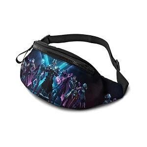 フォートナイト ウエストポーチ ウエストバッグ ワンショルダー ボディバッグ リュック 鞄 グッズ プレゼント Epic Games Waist Packs for Men Women Fortnite Fanny Pack Waist Bags with Headphone Jack