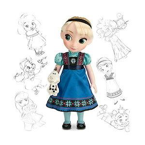 """アナと雪の女王2 エルサ オラフ アニメーターズ コレクション おもちゃ 人形 ドール フィギュア ディズニー Frozen Disney Animators Collection Elsa 16"""" Doll with Olaf"""