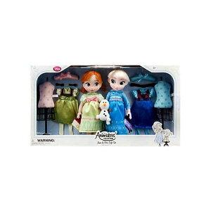 アナと雪の女王2 エルサ アナ アニメーターズ コレクション セット 着せ替え おもちゃ 人形 ドール フィギュア ディズニー Disney Frozen Animators' Collection 16 Inch Doll 2-Pack Anna Elsa