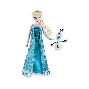 アナと雪の女王2 エルサ オラフ おもちゃ 人形 ドール フィギュア ディズニー Disney Frozen Elsa Classic Doll with Olaf Figure 12 Inch