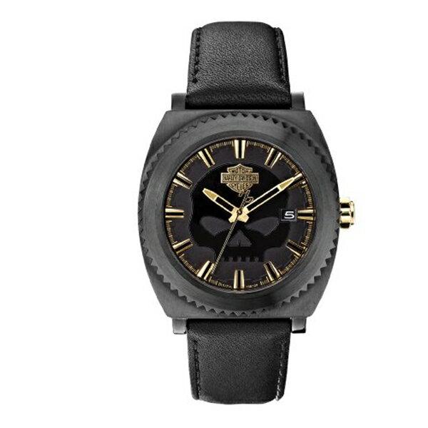 ハーレーダビッドソン Harley-Davidson Harley Davidson 腕時計 時計 Harley-Davidson Men's Bulova Willie G Skull Wrist Watch 78B129