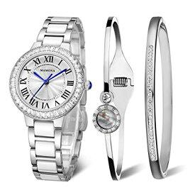 57718e2b5b ハーレーダビッドソン Harley-Davidson Harley Davidson 腕時計 時計 MAMONA Women's Quartz  Watch Bracelet Gift Set