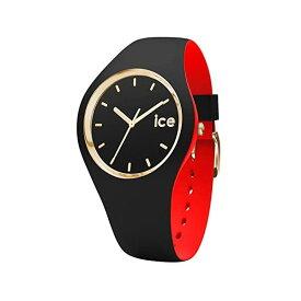 アイスウォッチ 腕時計 IceWatch レディース 女性用 Ice-Watch - ICE Loulou Black Gold - Women's Wristwatch with Silicon Strap - 007225 (Small)