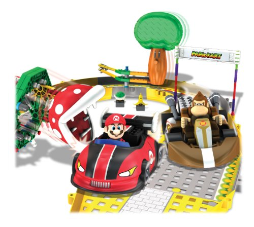 Mario Kart マリオカート マリオ&ドンキー ビルディングセット Wii Mario and Donkey Kong Circuit Start Line Building Set