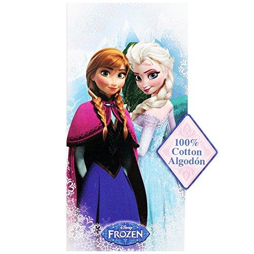 Disney Frozen アナと雪の女王 ビーチタオル Snowflake Beach Towel