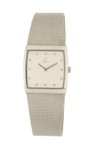 オバック レディース 腕時計 Obaku By Ingersoll Ladies Stainless Steel Bracelet Watch V102LCCMC