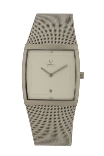 オバック メンズ 紳士用 腕時計 Obaku By Ingersoll Gents Stainless Steel Mesh Bracelet Watch V102GCCMC