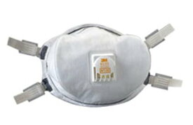 スリーエム 8233 N100 防塵マスク 世界最高水準(99.9%以上の捕集効率) 放射能物質対応 20枚セット 3M 8233 N100 Particulate Respirator - Case of 20