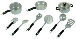 テオクライン 鍋 キッチンセット Theo Klein WMF Toy Pots and Kitchen Set