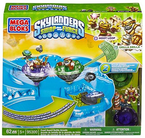 メガブロック 95300 スカイランダーズ Mega Bloks Skylanders Frost Guard Battle Arcade