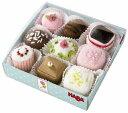 HABA ハバ社 おもちゃ 知育玩具 おままごと ケーキセット Biofino Petit Fours Set of 9