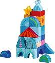HABA ハバ社 木製 おもちゃ 知育玩具 ブロック ファンタジー 積み木 HABA-Fantasy Land Building Blocks