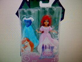 """ディズニープリンセス ドール フィギュア 人形 リトルマーメイド アリエル MATTEL DISNEY PRINCESS Little Kingdom """"ARIEL"""" Doll With Dress 3.5"""" Tall Doll"""